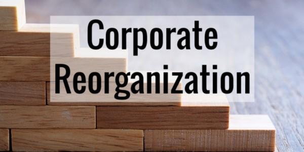 Corporate Reorganization – The Essentials