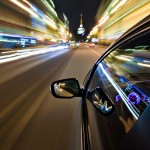 Blurred Car Fast