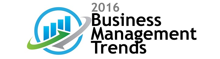 Business Management and Operations Trends 2016. Research identifies management is focus on growth strategy, customer service and employee engagement.